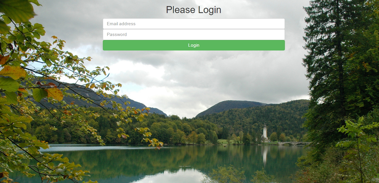 bootstrap login form background